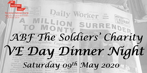 ABF The Soldiers' Charity - VE Day Dinner Night