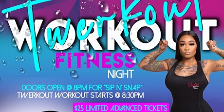 Twerkout Workout Fitness tickets