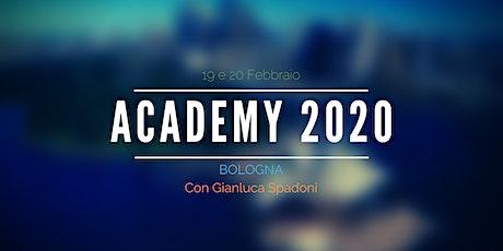 Academy 19 e 20 Febbraio 2020 biglietti