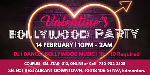 VALENTINE'S  BOLLYWOOD PARTY
