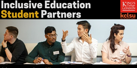 Inclusive Education Student Partner Launch Event tickets