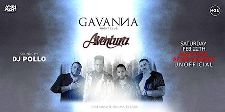 Aventura After Concert Party tickets