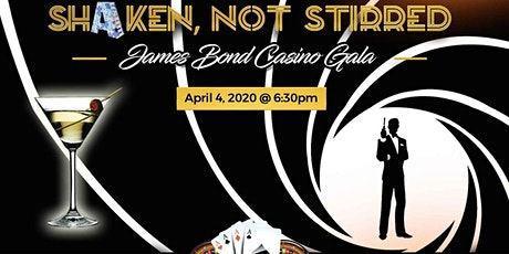 Shaken, not Stirred - James Bond Casino Gala tickets