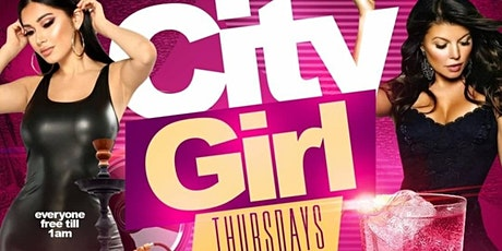 """""""CITY GIRL THURSDAYS"""" EVERYONE FREE ON RSVP BEFORE 1AM @ """"NIRVANA LOUNGE"""" tickets"""