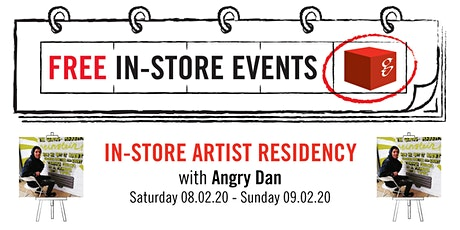 In-Store Artist Residency with Angry Dan tickets