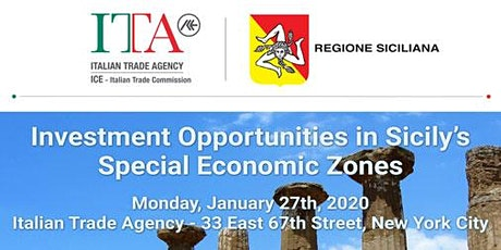 Investment Opportunities in Italy: the Special Economic Zones in Sicily tickets