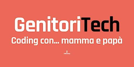 GenitoriTech - Coding con mamma e papà biglietti