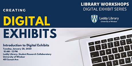Digital Exhibits Workshop #1: Introduction to Digital Exhibits with Omeka tickets