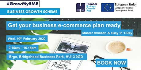 Get Your Business E-commerce Plan Ready....Master Amazon and eBay in 1-Day tickets