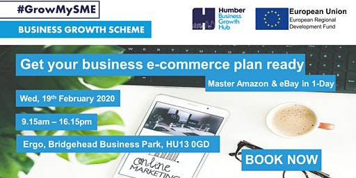 Get Your Business E-commerce Plan Ready....Master Amazon and eBay in 1-Day
