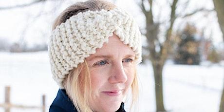 Beginner Headband Knitting Class tickets