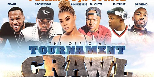 TOURNAMENT BARCRAWL 2020 - 4 DAYPARTIES, 4 DJS, 1 PRICE!  #TOURNEY #CI #CIAA