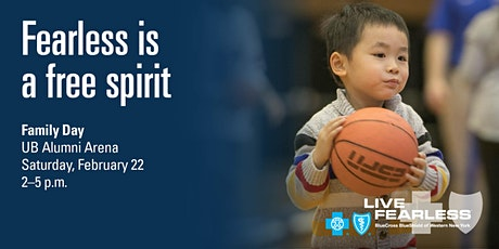 BlueCross BlueShield Fearless February - UB Family Day tickets