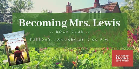 Becoming Mrs. Lewis Book Club tickets