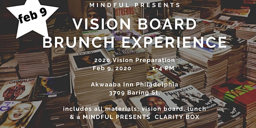 2020 - Vision Board Lunch Experience