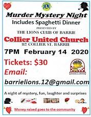 Murder Mystery Night with Dinner tickets