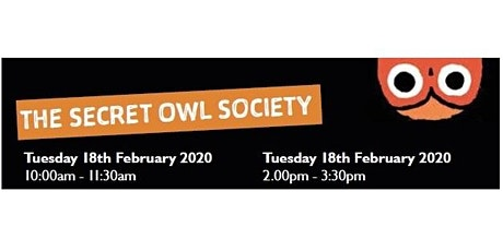 Darlington Libraries: The Secret Owl Society (10.00am - 11.30am) tickets