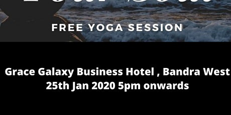 Free yoga session by THE GET FIT CLUB tickets