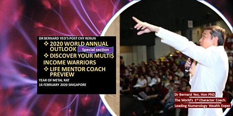 *[Highly Recommended -鼠2020 World Outlook. Life Mentor Coach Workshop]* tickets