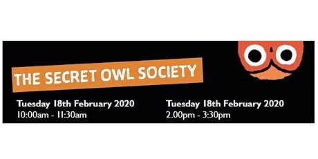 Darlington Libraries: The Secret Owl Society (2.00pm - 3.30pm) tickets