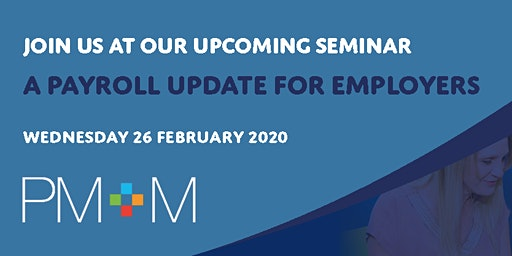 A payroll update for employers