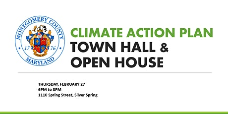 Montgomery County Climate Action Plan Town Hall & Open House tickets