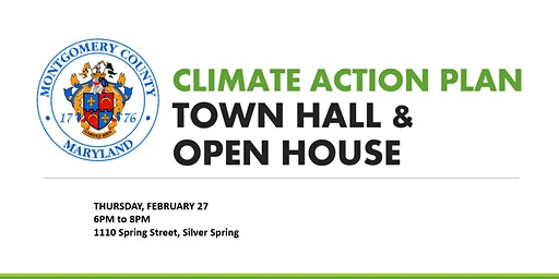Montgomery County Climate Action Plan Town Hall & Open House