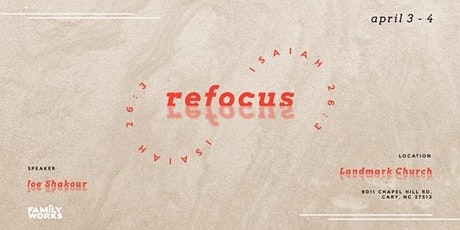 Refocus Singles Conference tickets