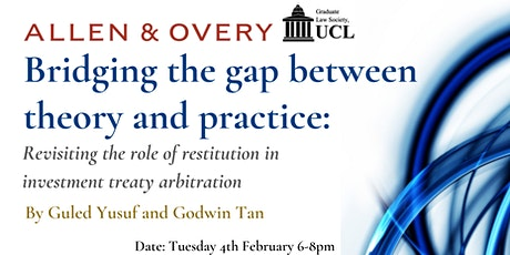 GLS Presents : Arbitration Talk with Allen & Overy tickets