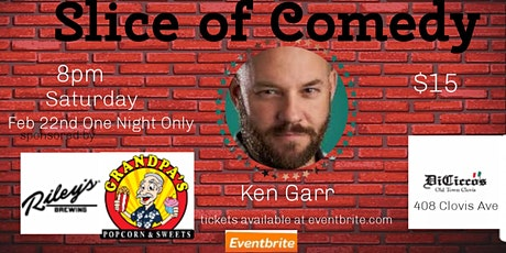 Slice of Comedy Headlining Ken Garr tickets