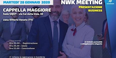 MEETING PRESENTAZIONE BUSINESS - NEWORKOM COMMUNITY - CAPPELLA MAGGIORE-TV biglietti