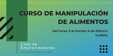 CURSO DE MANIPULACIÓN DE ALIMENTOS entradas