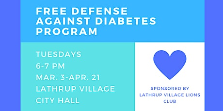Free Defense Against Diabetes Series tickets