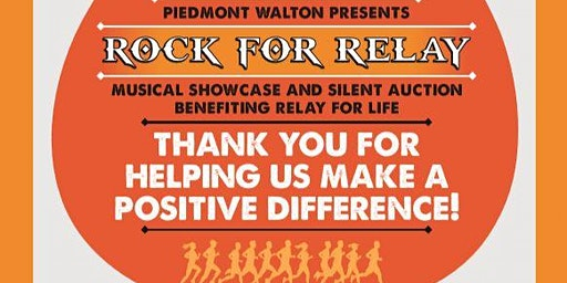 Rock for Relay with Piedmont Walton