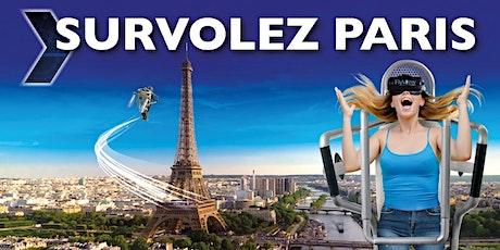 L'INCROYABLE SURVOL DE PARIS + LE MONDE billets