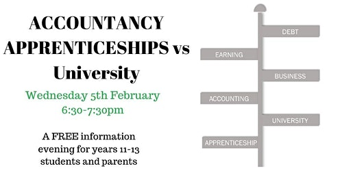 Accountancy Apprenticeships vs University