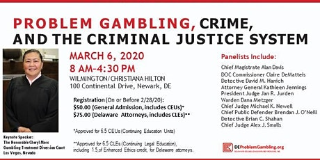 Problem Gambling, Crime and the Criminal Justice System tickets