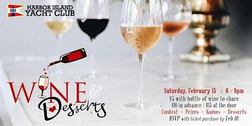 Harbor Island Yacht Club Wine & Dessert Party