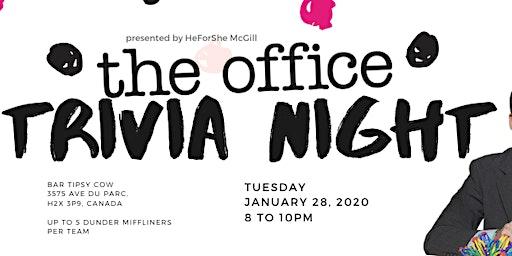 HeForShe 'The Office' Trivia Night