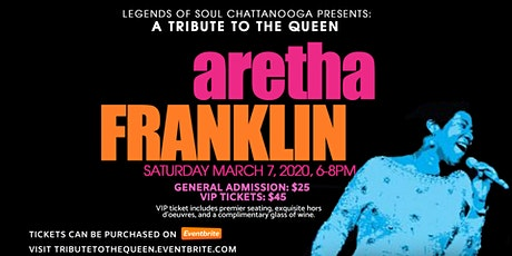 A Tribute To The Queen: Aretha Franklin tickets