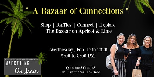 Feb. 12th | Marketing on Main + Sarasota Premier Networking Event
