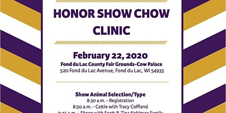 Honor Show Chow Clinic tickets