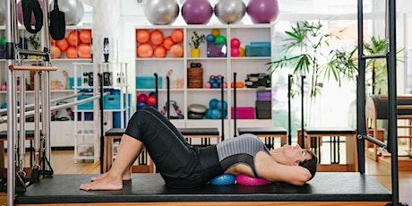 Introdutório Move Flow e Move Flow Aplicado ao Equipamentos de Pilates em Barretos tickets