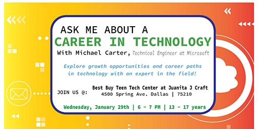 Ask Me About a Career in Technology with Michael Carter