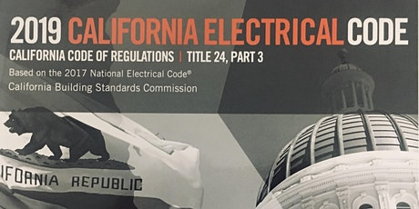 2019 California Electrical Code Analysis of Changes tickets