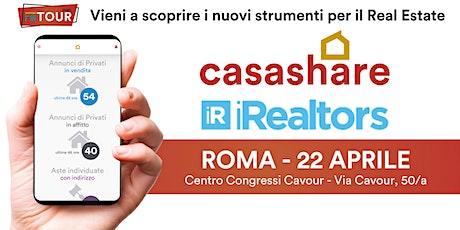 Aula formativa con Casashare ed iRealtors a Roma biglietti