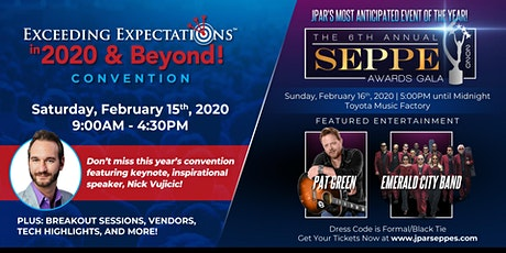 Seppes Weekend 2020: Exceeding Expectations™ Convention & Awards Gala tickets