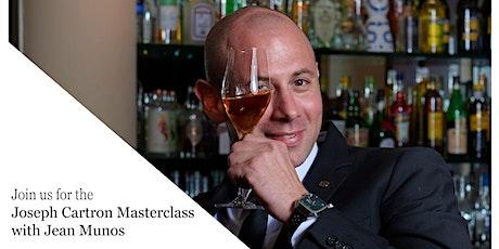 Joseph Cartron  Masterclass @ MMI Bar Academy with bar Legend Jean Munos tickets