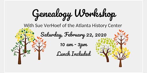 Genealogy Workshop w/ Sue VerHoef