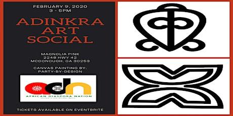 Ghana Adinkra Paint & Sip Social tickets